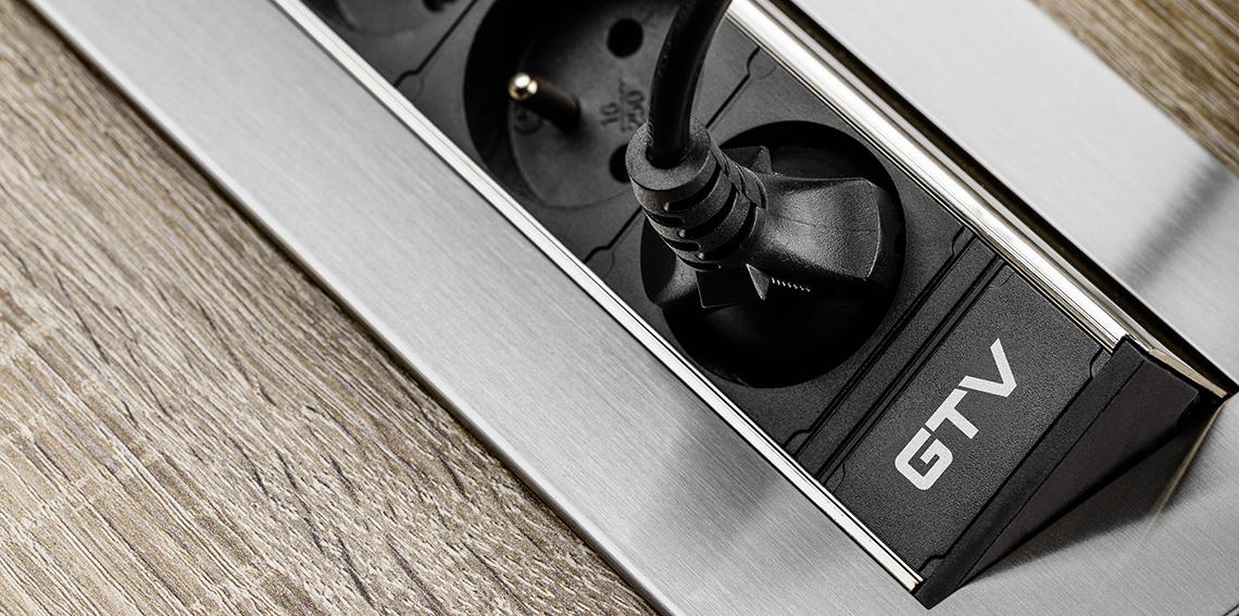 AE PBC3GU 51BK Przedluzacz biurkowy bez kasety 1