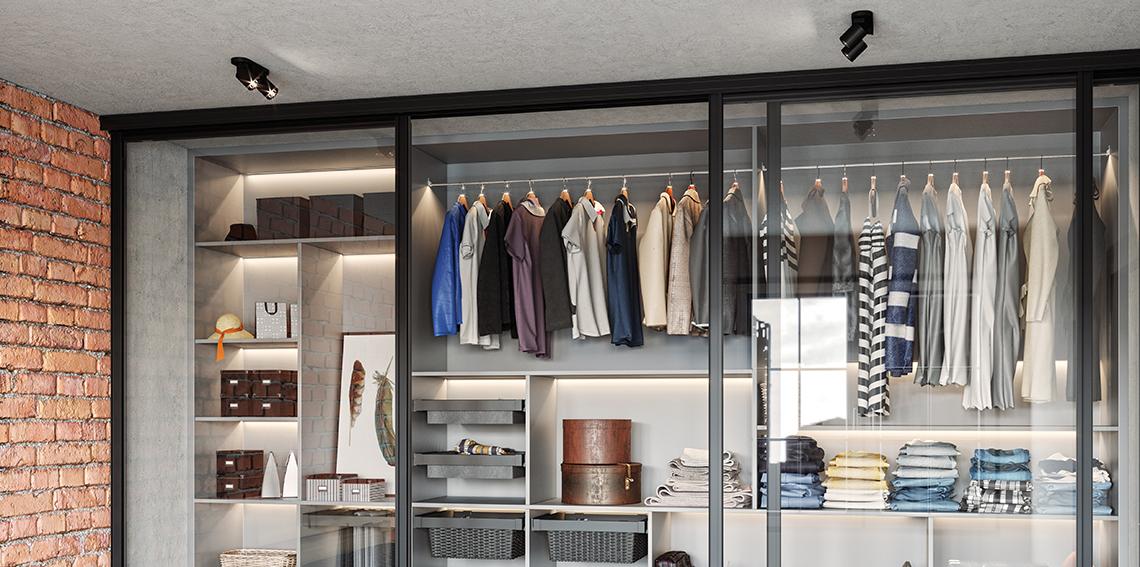 Garderoba w nowoczesnym stylu – jak zaprojektować garderobę na małym metrażu?