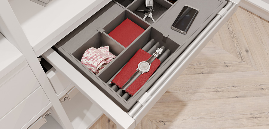 Organiser for accessories