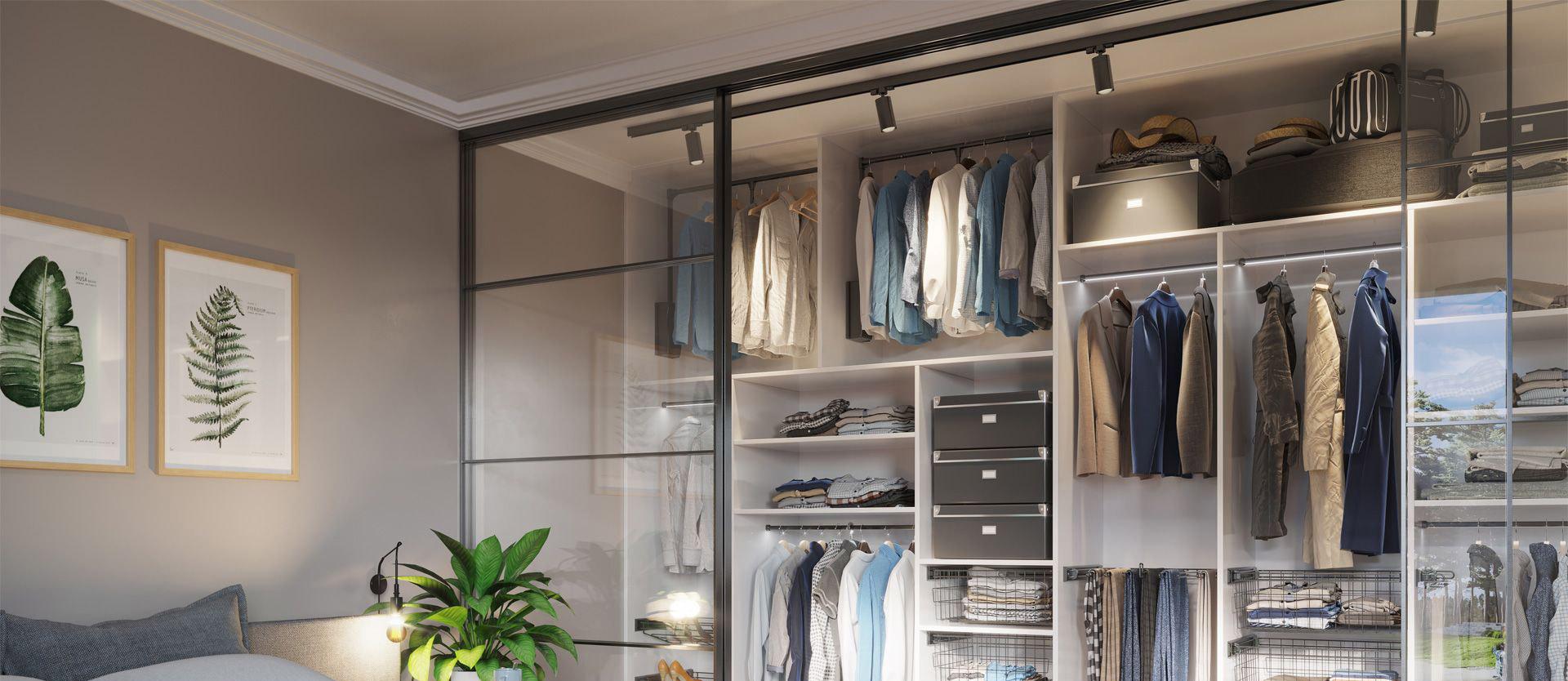 Garderoba smart antracyt 2