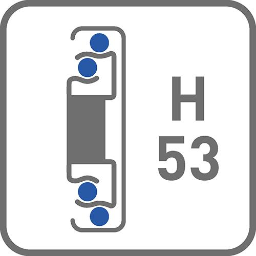 Prowadnica : kulkowa H53