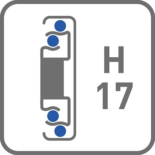Prowadnica : kulkowa H17