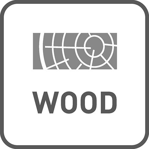 Zastosowanie do drewna: tak