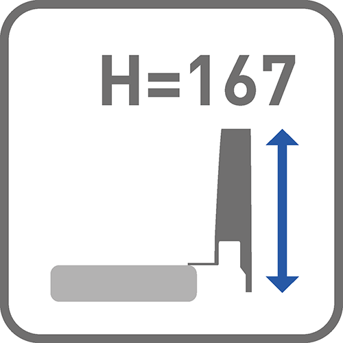 Wysokość boku [mm]: 167