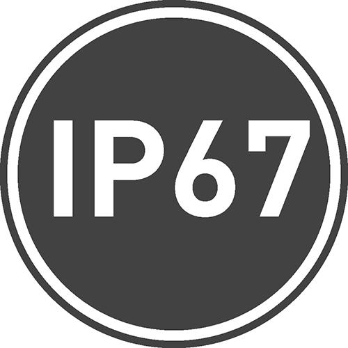 Stopień ochrony IP: 67