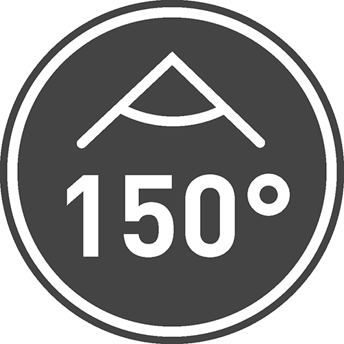 Kąt świecenia [⁰]: 150