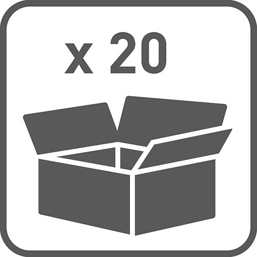 Ilość w opakowaniu: 20