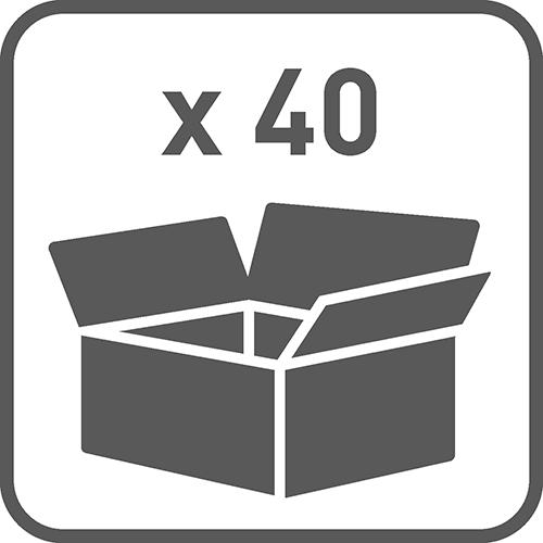 Ilość w opakowaniu: 40