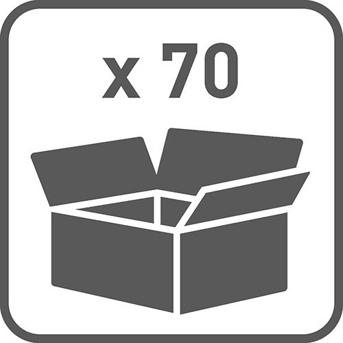 Ilość w opakowaniu: 70