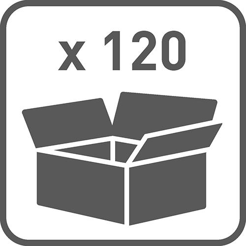 Ilość w opakowaniu: 120