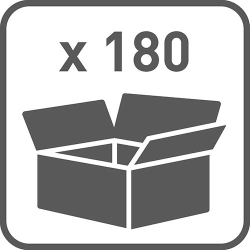 Ilość w opakowaniu: 180, 90, 45