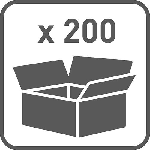 Ilość w opakowaniu: 200
