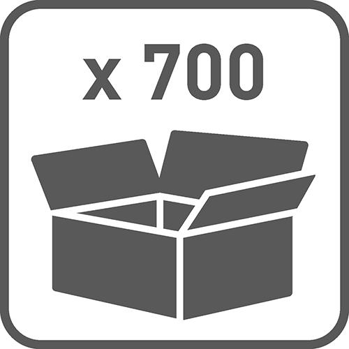 Ilość w opakowaniu: 700