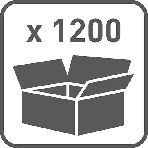 Ilość w opakowaniu: 1200