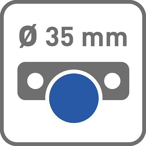 Średnica puszki [mm]: 35