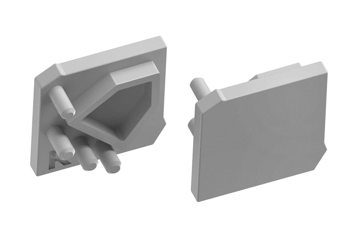 Zaślepka trójkątna -  - kątowy, nakładany