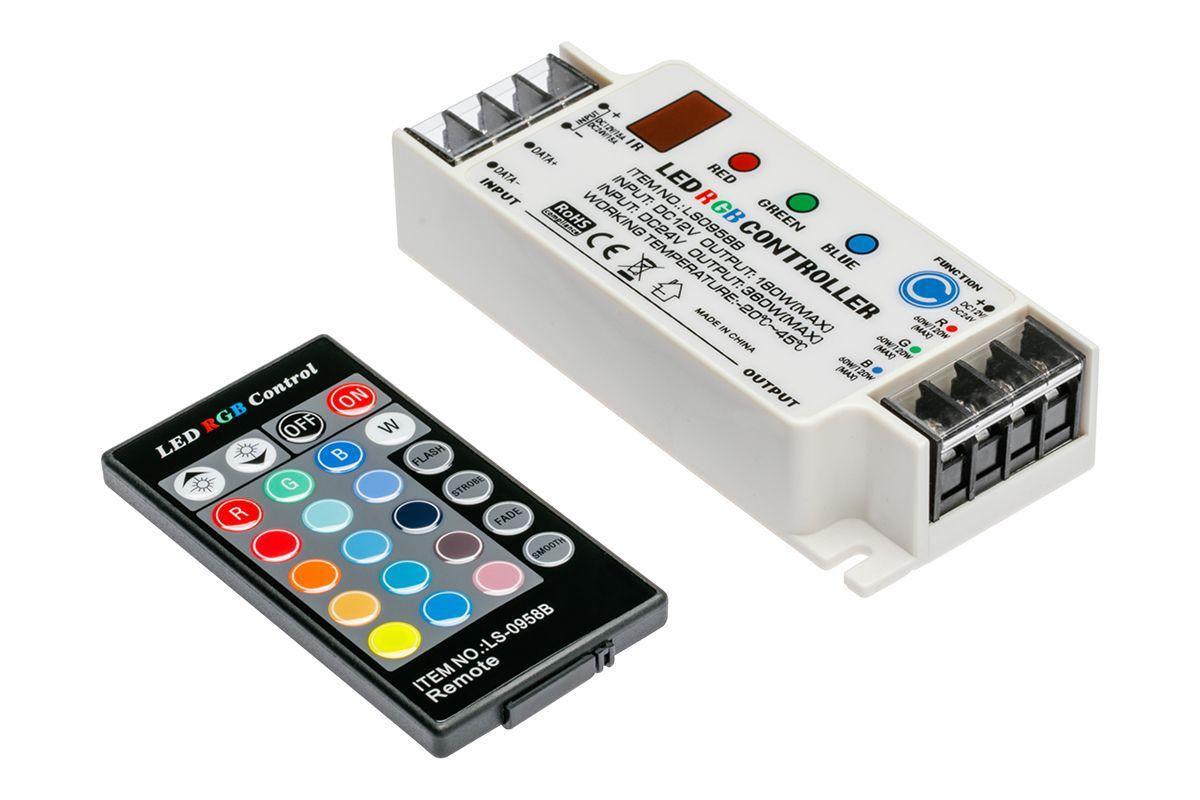 Kontroler RGB z pilotem