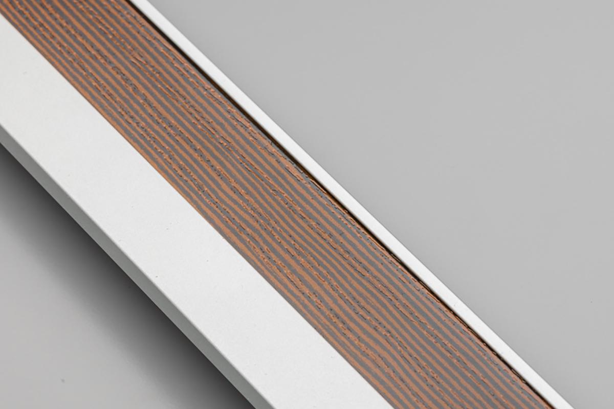 Profil GLAX cokołowy, nabijany [do wypełnienia obrzeżem] - 1