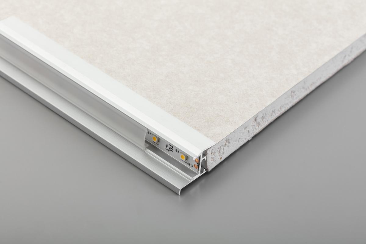Profil LED GLAX ścienny do płyt GK - 2
