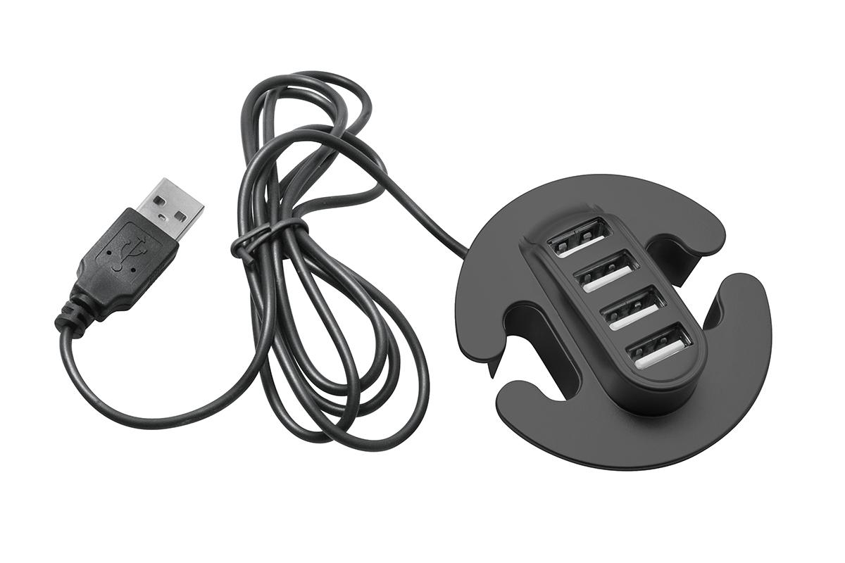 Hub- 4 porty USB - 2