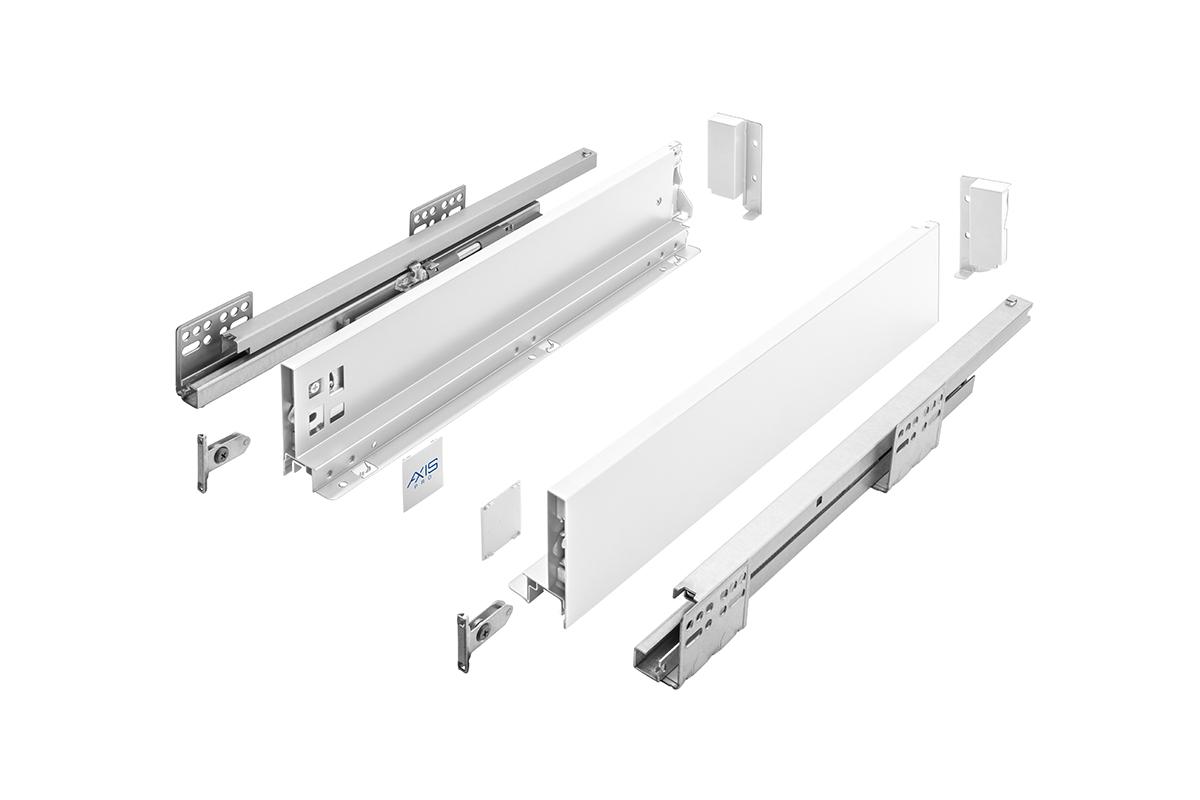 AXIS PRO Komplet szuflady niskiej A - 4