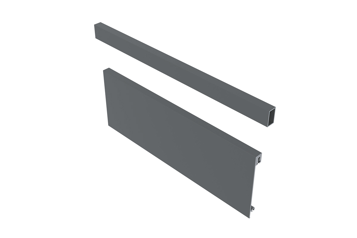 AXIS PRO Panel przedni niski 95 mm + reling
