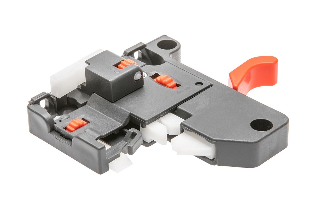 Prowadnica dolnego montażu ze spowalniaczem 0SHX-18 3D - 1