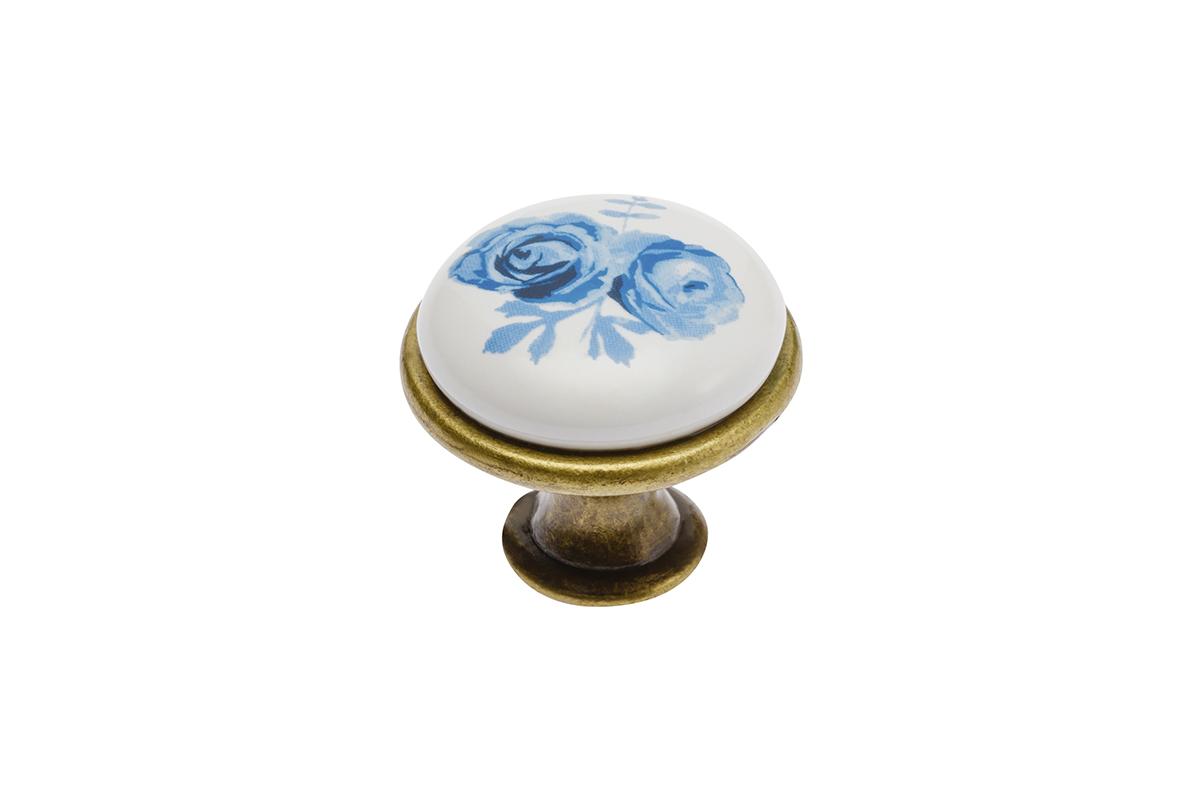Gałka 728 blue rose - 1