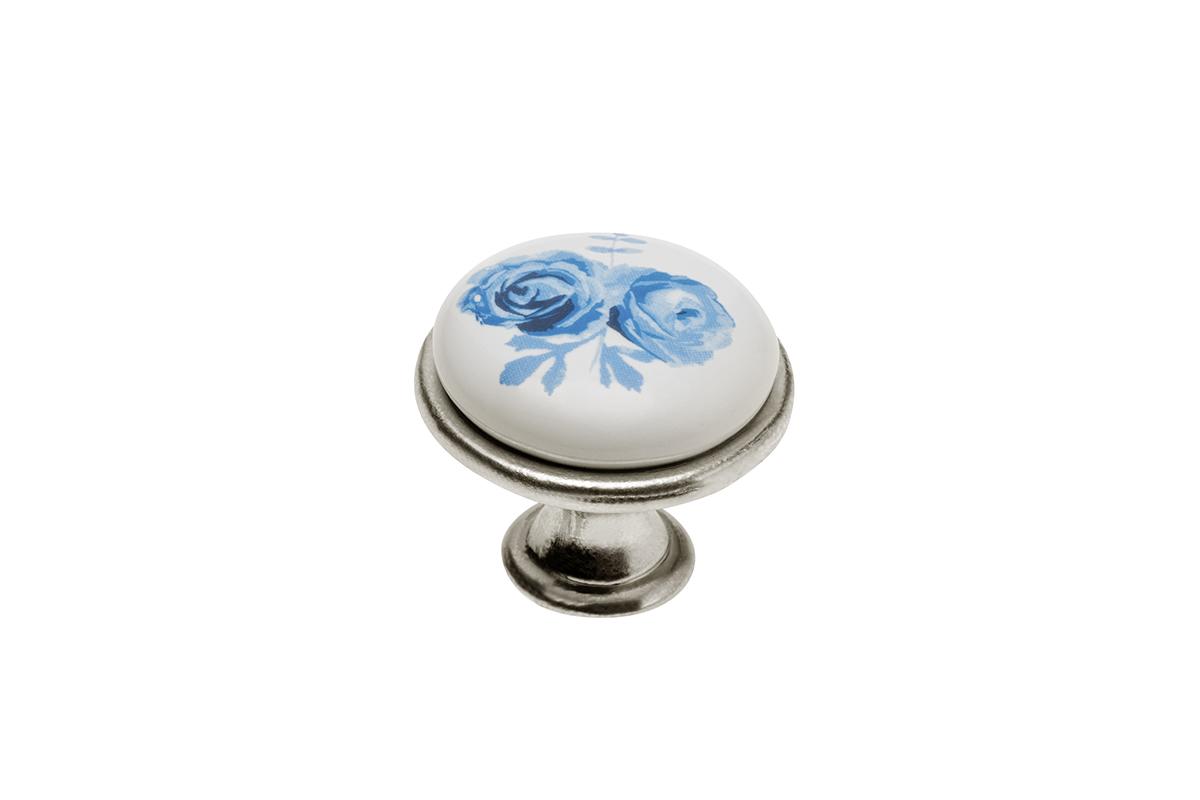 Gałka 728 blue rose - 3