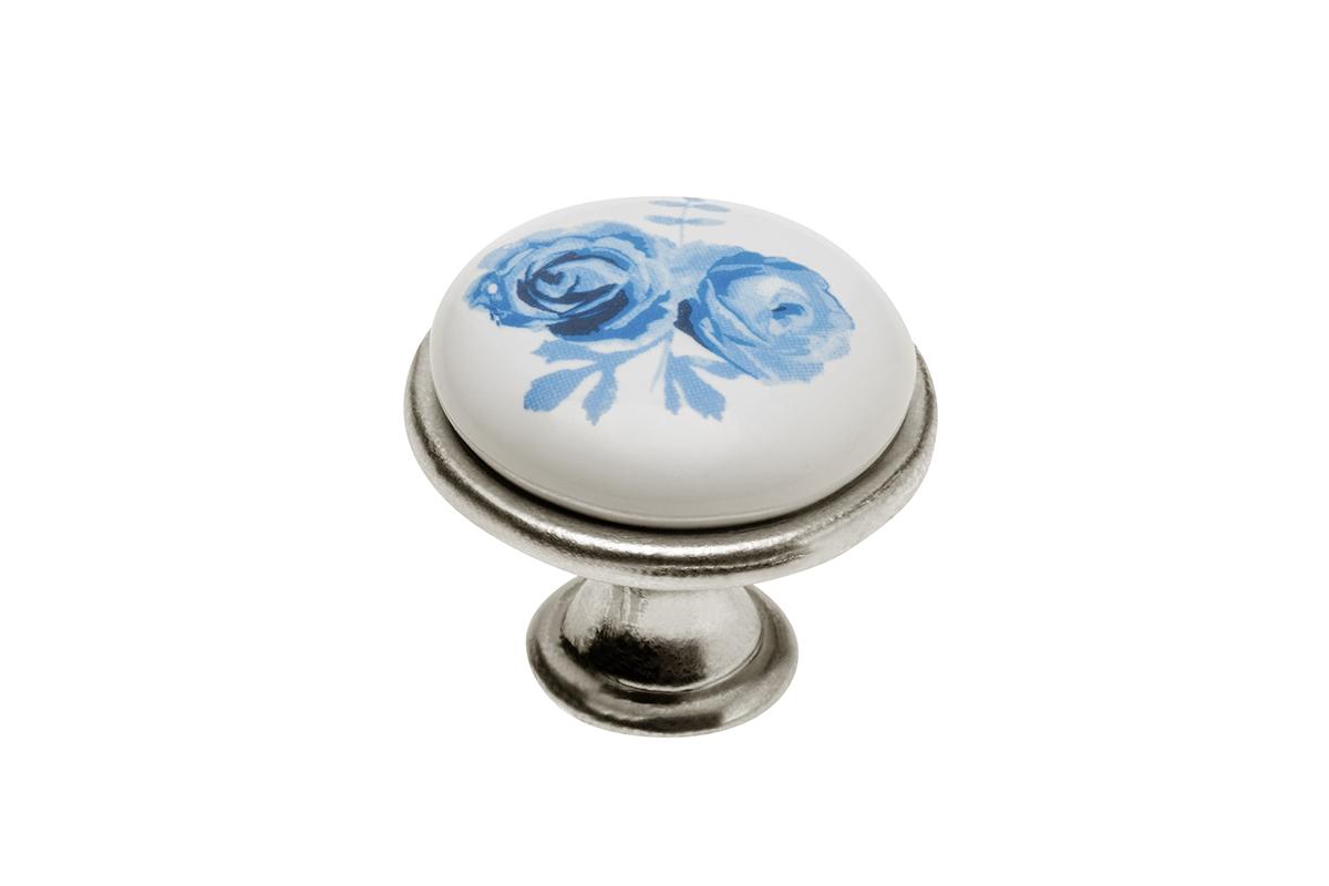 Gałka 728 blue rose