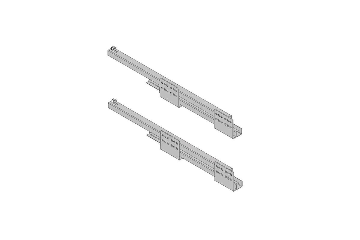 Komplet prowadnic do kosza cargo KO-150/200BO-01/60 - 1