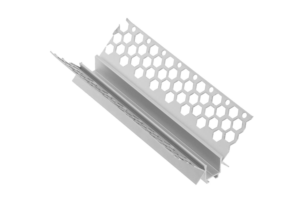 Profil LED GLAX kątowy, wewnętrzny do płyt GK