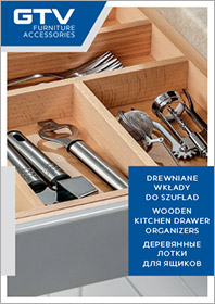 Wooden kitchen drawer organizers