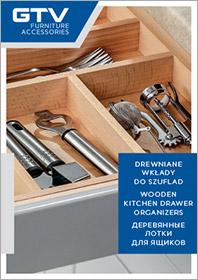 Drewniane wkłady do szuflad