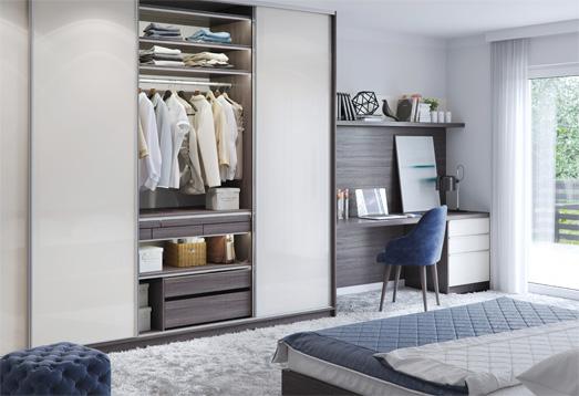 Proste i intuicyjne narzędzie, dzięki któremu w kilka minut skonfigurujesz swoją nową szafę.