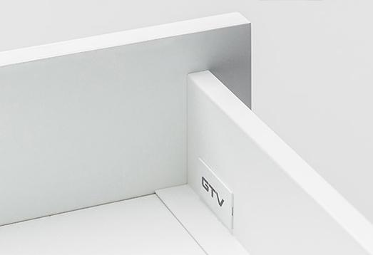 Axis es una nueva calidad de cajón, ejemplo de funcionalidad y diseño. Soluciones que optimizan la cocina y se adaptan a tus necesidades.