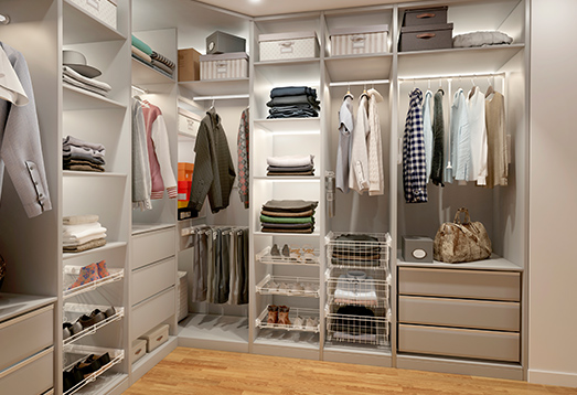 Fitted wardrobes are increasingly being found at homes these days – we happily set aside some space for clothes and accessories, even in a small area.