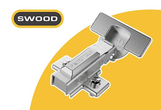 Biblioteka okuć dla programu SWOOD Design. Darmowa baza brył 3D prowadnic, uchwytów i systemów szuflad dostępnych dla producentów mebli i stolarzy.