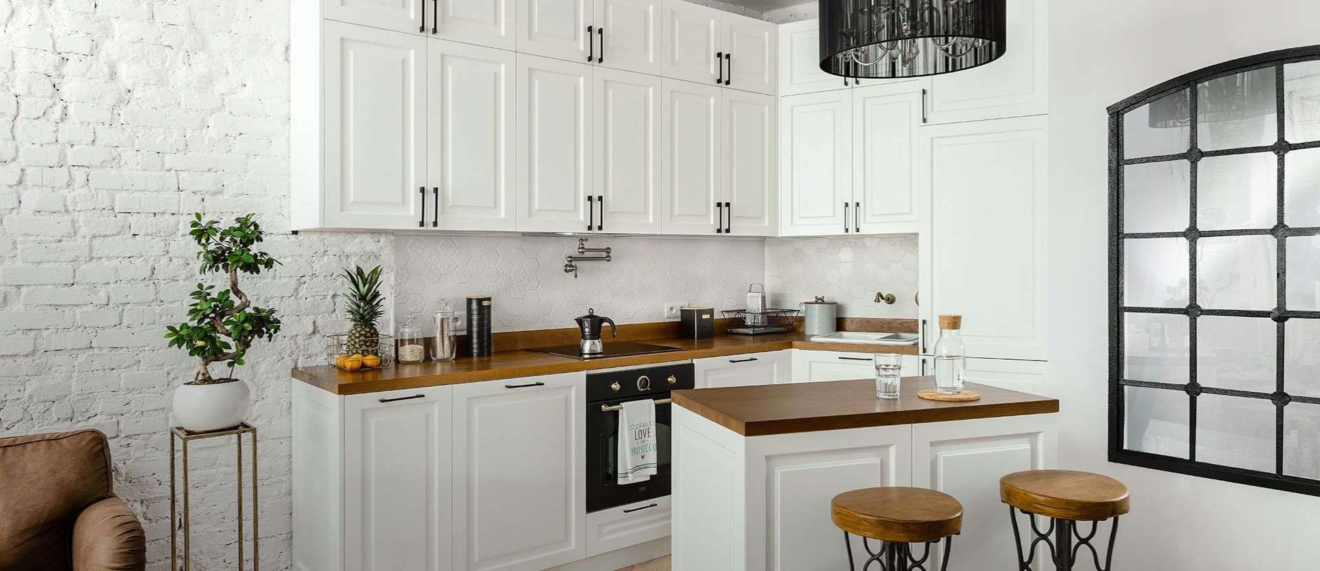 A wellorganised kitchen