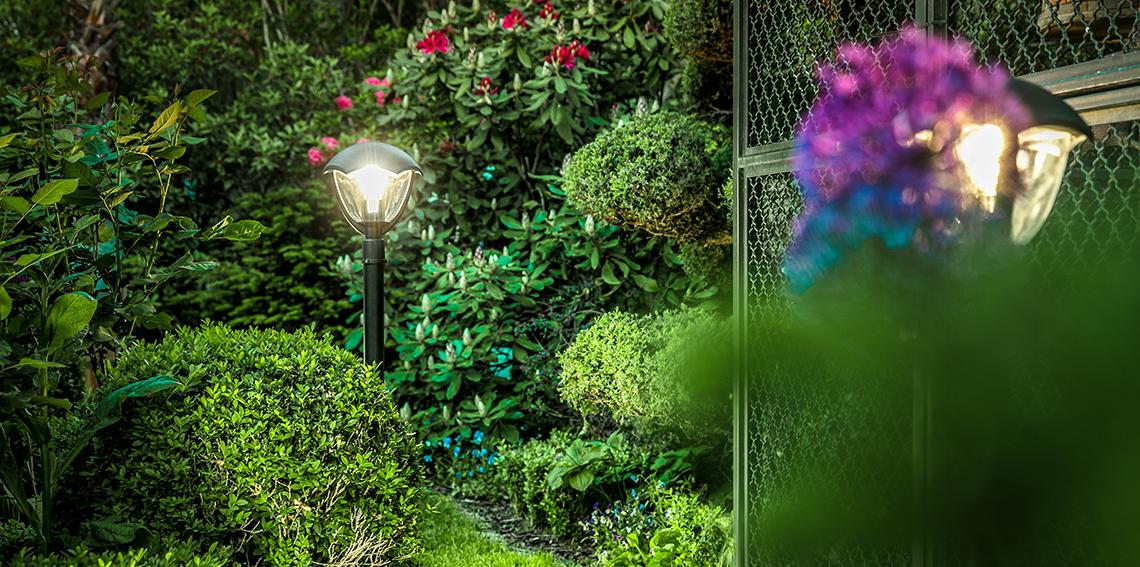 Oprawy LED ogrodowe