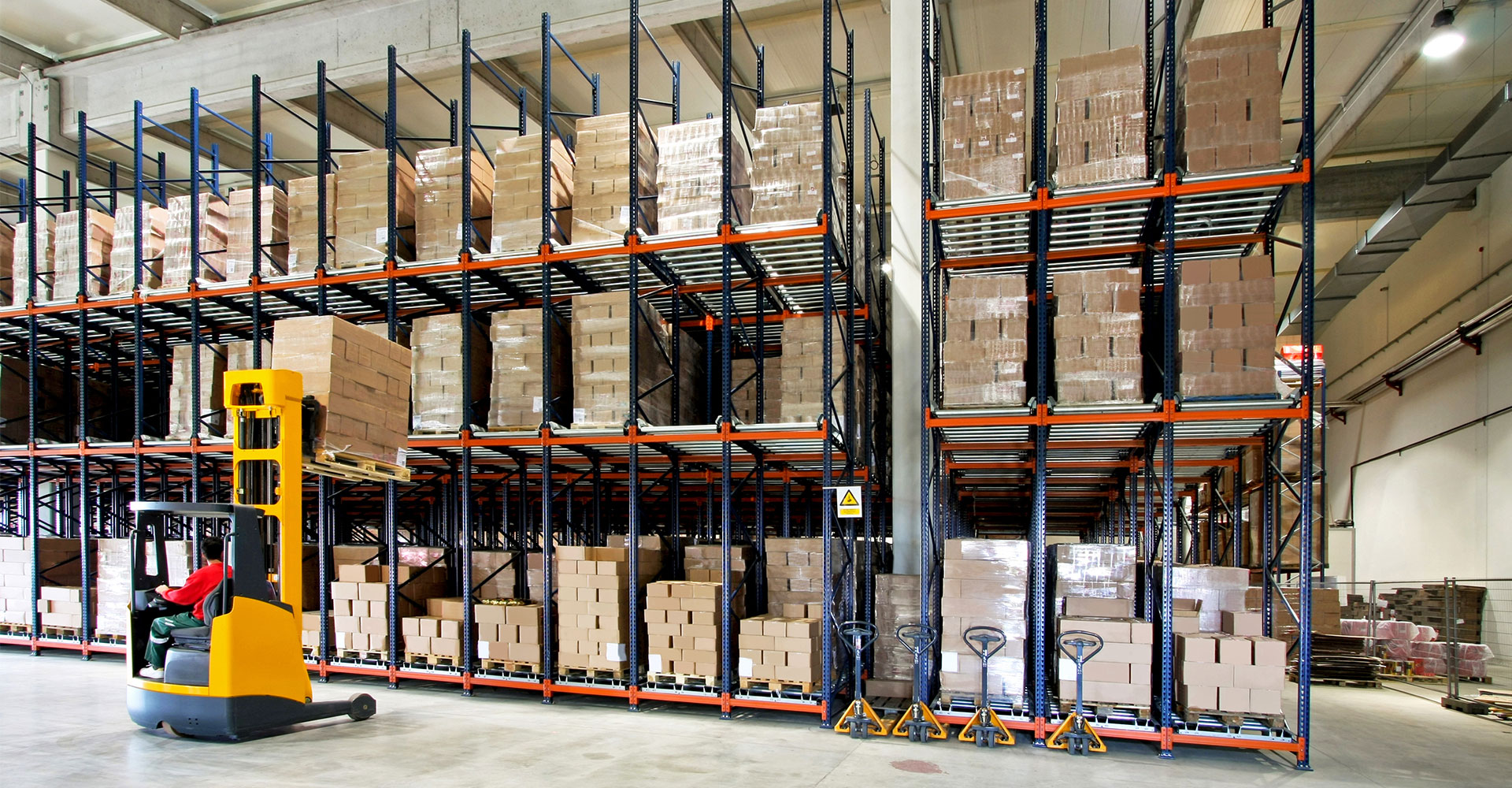 Warehouse Lighting And Work Safety Gtv