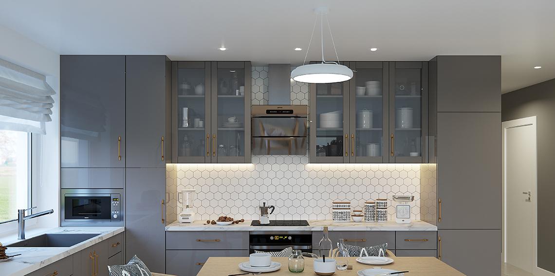 Jak zaprojektować oświetlenie w kuchni?
