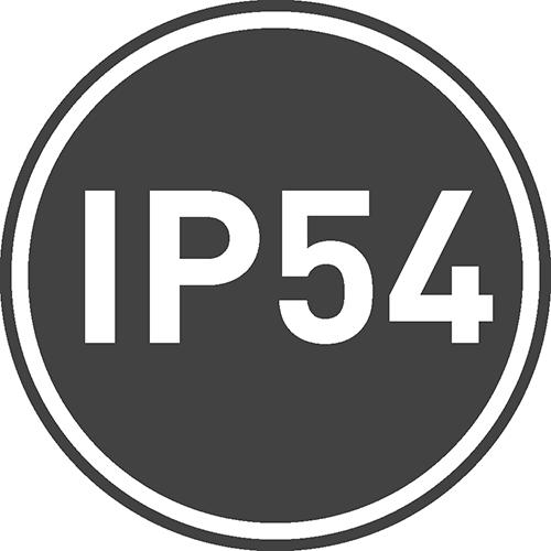 Степень защиты IP: 54
