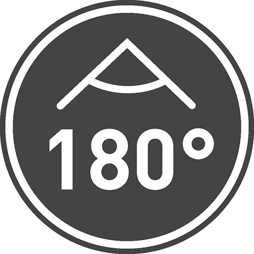 Угол свечения [⁰]: 180, 120, 360, 90, 270, 38, 220, 160