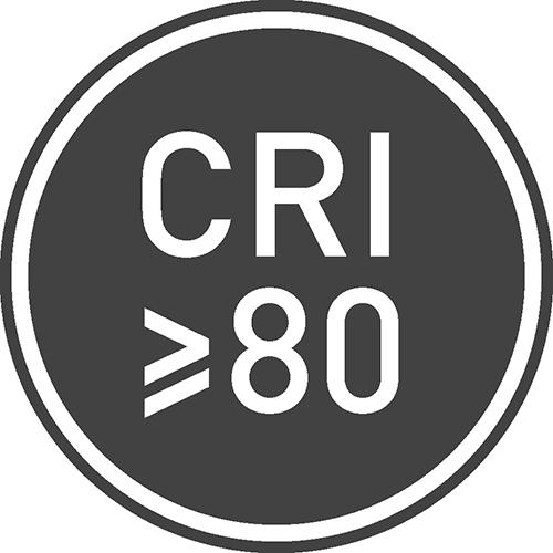 Индекс цветопередачи: ≥80