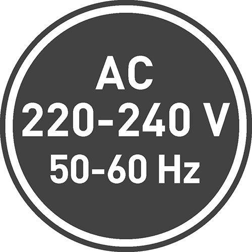 Напряжение питания [В]: 220-240, 12