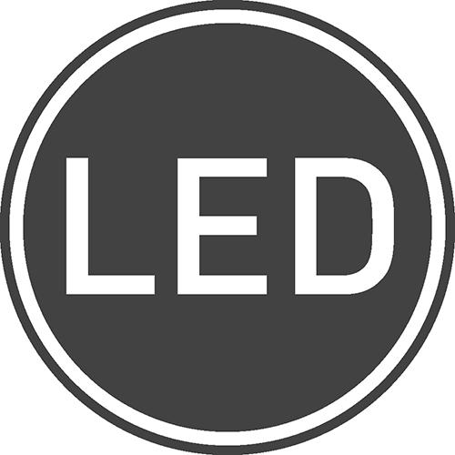 Współpracuje z LED: tak
