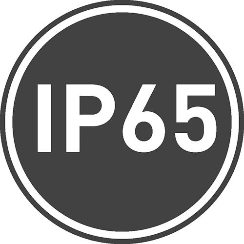 Stopień ochrony IP: 65