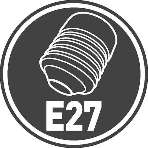 Rodzaj trzonka: E27
