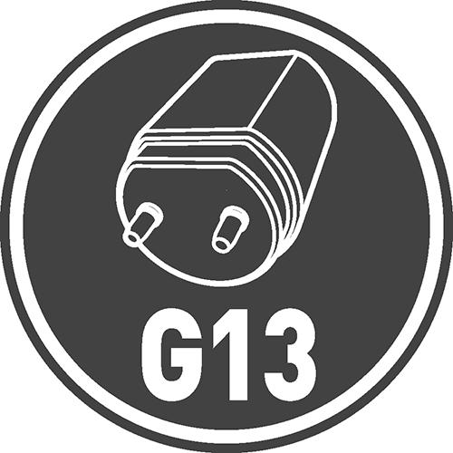 Rodzaj trzonka: G13